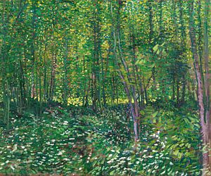 Vincent van Gogh, Bos met kreupelhout van