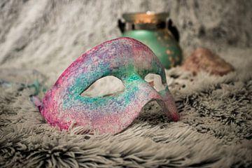venitiaans geïnspireerd masker von Iris van der Veen