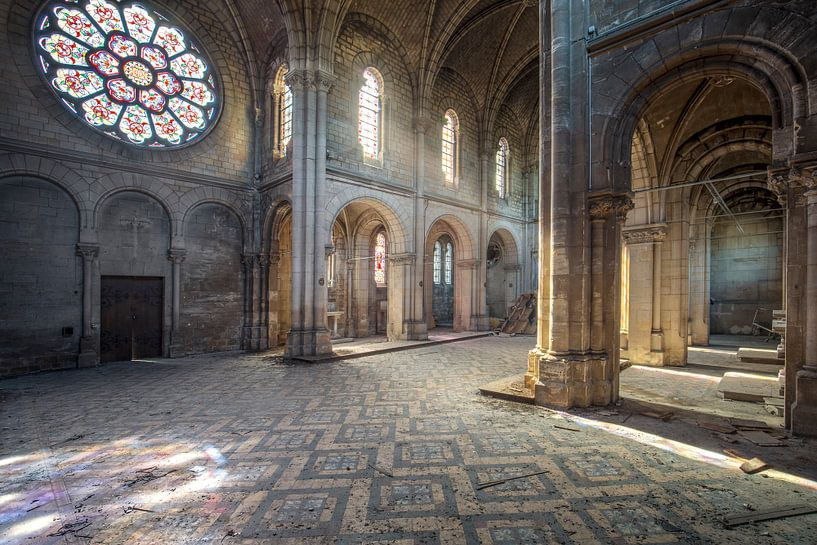 verlaten gotische kapel van Kristof Ven