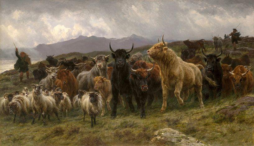 Highland Raid, Rosa Bonheur van Meesterlijcke Meesters