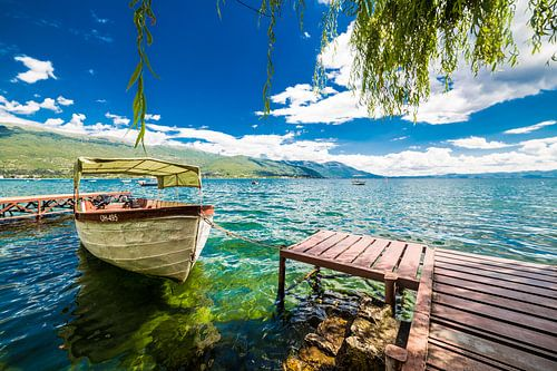 Meer van Ohrid von Thomas van der Willik