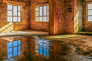Verlassene Fabrik in Belgien von Patrick Löbler