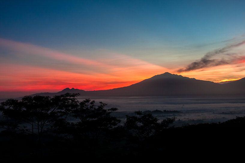 Merbabu Sunrise sur Marc Arts