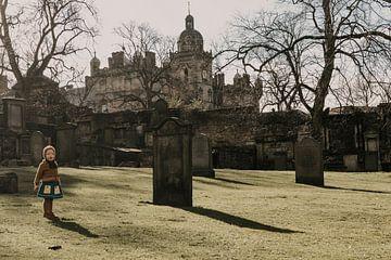 Greyfriars Kirkyard Edinburgh, Schotland van Manon Visser