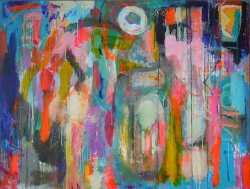 """Abstract schilderij """"Het miskende kind"""""""