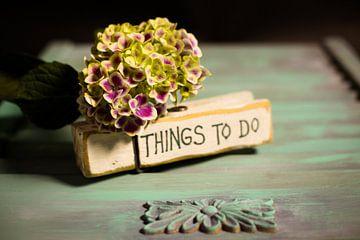 Niet vergeten; things to do; Rappeller sur Tonny Visser-Vink