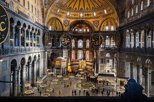 Hagia Sophia in Istanbul van
