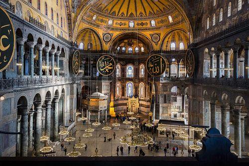 Hagia Sophia in Istanbul van Roy Poots