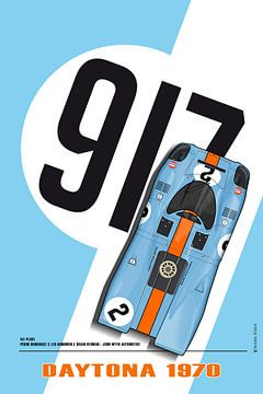 917 Rodriguez-kinnen Blauw van Theodor Decker