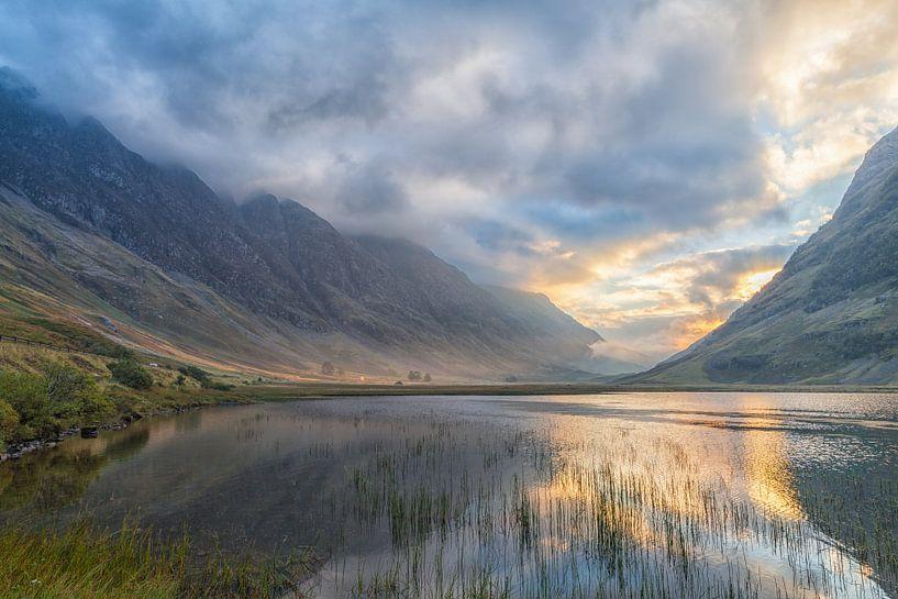 Loch Achtriochtan van Ron Buist