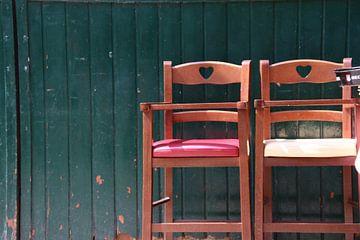 2 stoelen van matthijs iseger