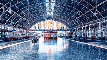 Hua Lamphong Centraal Station in Bangkok van Bernd Hartner