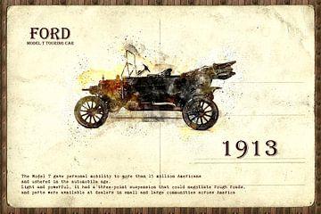 retro auto  stijlvolle von Ariadna de Raadt