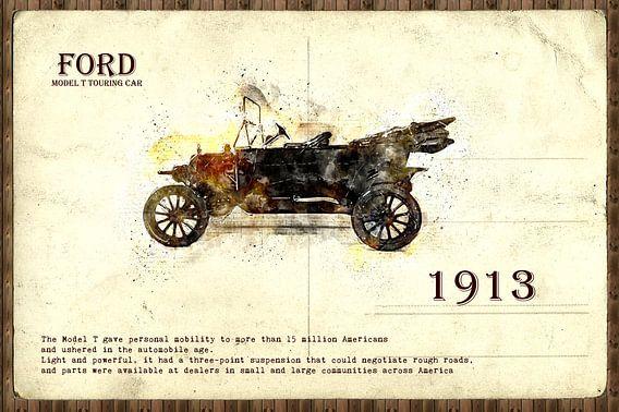 retro auto  stijlvolle