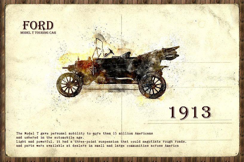 retro auto  stijlvolle van Ariadna de Raadt