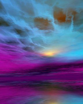 Avond kleuren van Angel Estevez