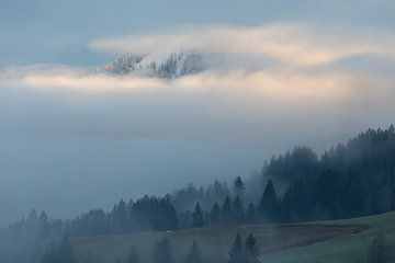 Mistige berg von Guido Akster