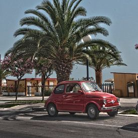 Fiat 500 van Arthur Wijnen