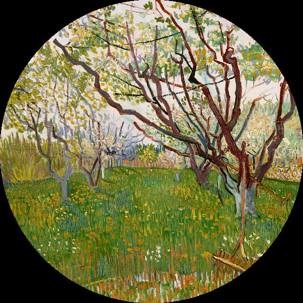 Bloeiende boomgaard, Vincent van Gogh van Schilders Gilde