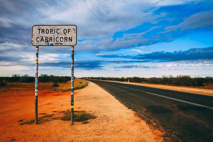 Tropic of Capricorn in Australië van Eveline Dekkers