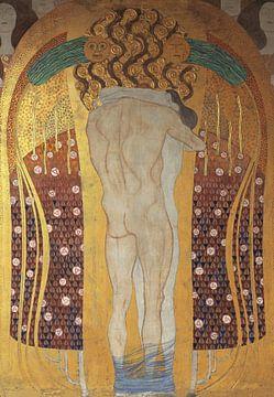 Die Umarmung, Gustav Klimt