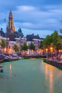 Grüne Grachten in Groningen von Vincent Alkema
