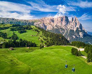 Seiseralm in Zuid-Tirol