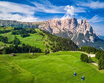 Seiseralm in Zuid-Tirol van Ralf van de Veerdonk