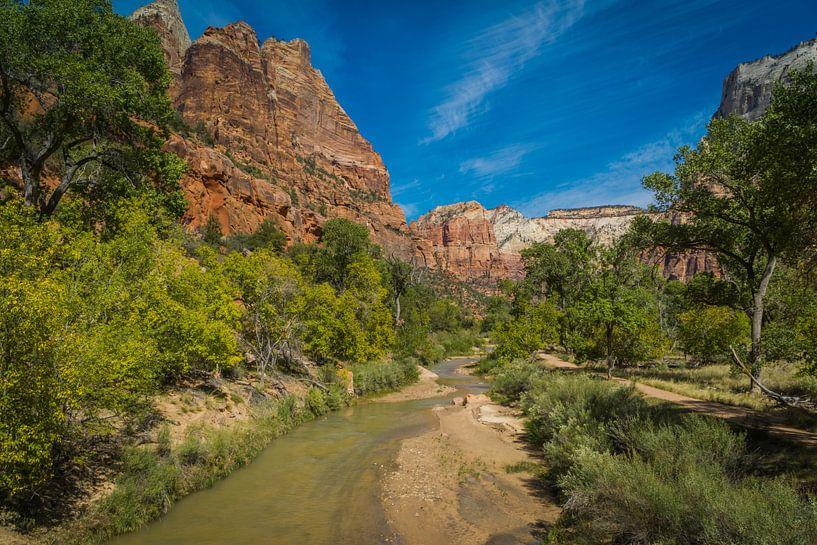 Zion national park Utah van Marja Spiering