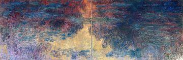 Der Seerosenteich am Abend, Claude Monet