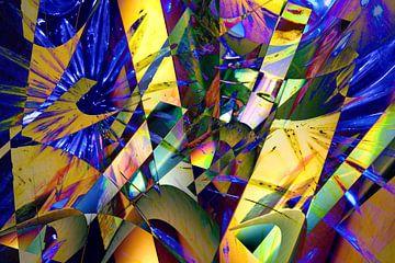 Farbmagie und Geometrie van Heidrun Carola Herrmann