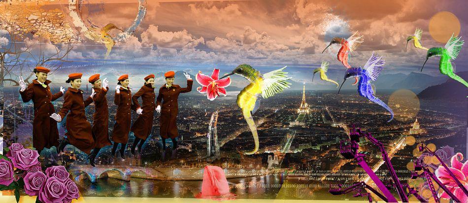 Je suis a Paris van Herman van Belkom