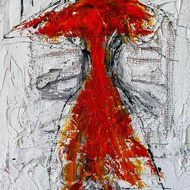 De rode chinees van Gabi Hampe