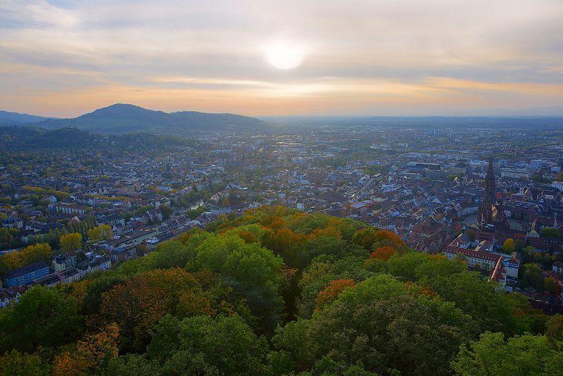Herbst über Freiburg von Patrick Lohmüller
