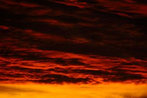 Dramatische lucht na zonsondergang, foto 3