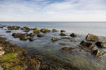 Keien voor de kust Hoek van Holland van Carin IJpelaar