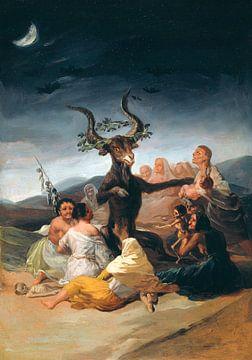 Heksensabbat, Francisco Goya