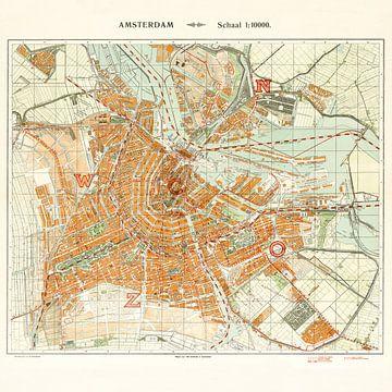 Karte Amsterdam - 1926