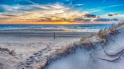 Duinpad naar het strand van