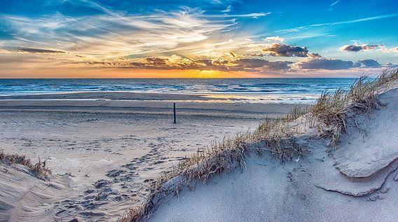Duinpad naar het strand van Alex Hiemstra