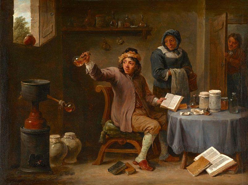 Die Konsultation, David Teniers II von Meesterlijcke Meesters