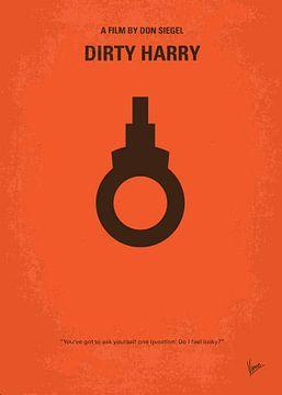 No105 My Dirty Harry movie poster van Chungkong Art