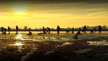 Oud Hollands Schaatsen op de IJssel van Greta Lipman