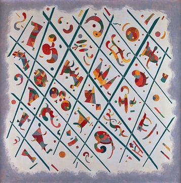 Abteilung - Einheit - Wassily Kandinsky, 1934 von Atelier Liesjes