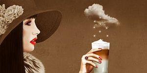 Ein himmlischer Latte Macchiato von