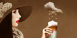 Een hemelse latte macchiato