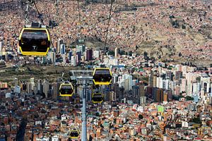 Van La Paz naar El Alto van