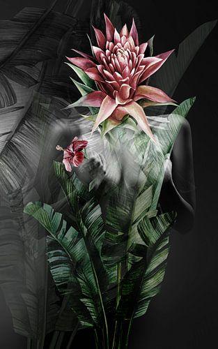 Secret garden collage van
