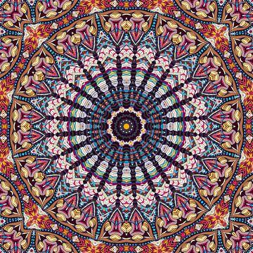 Mandala Schönheit von Marion Tenbergen