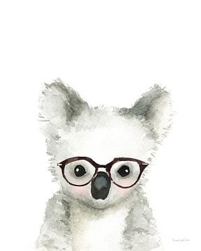 Koala in glazen, Mercedes Lopez Charro van Wild Apple